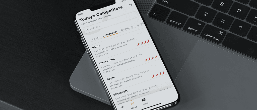 CommuniGator Lead Management App