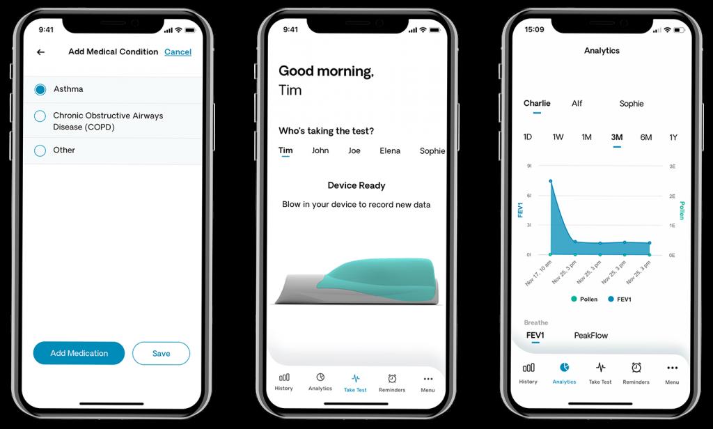 OpenAir Med is a healthcare app for asthma
