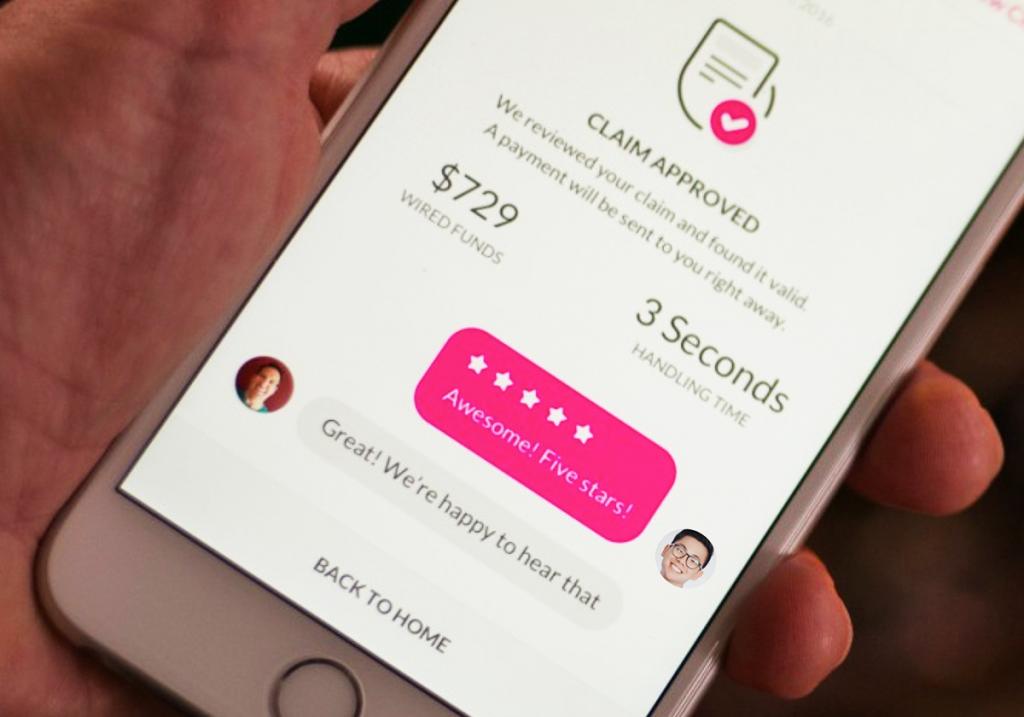 Lemonade Financial App Chat