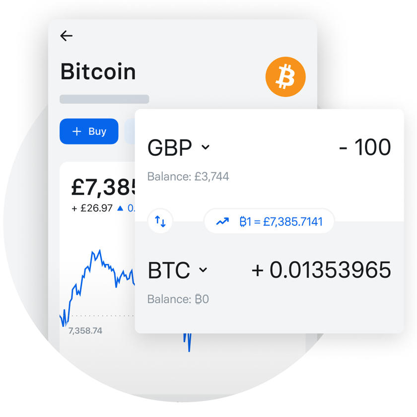 Revolut lets you buy bitcoin and other cryptocurrency